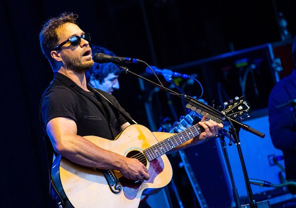 Amos Lee performs on his 38th birthday at Meadow Brook Music Theater on June 22 2015 in Rochester Michigan