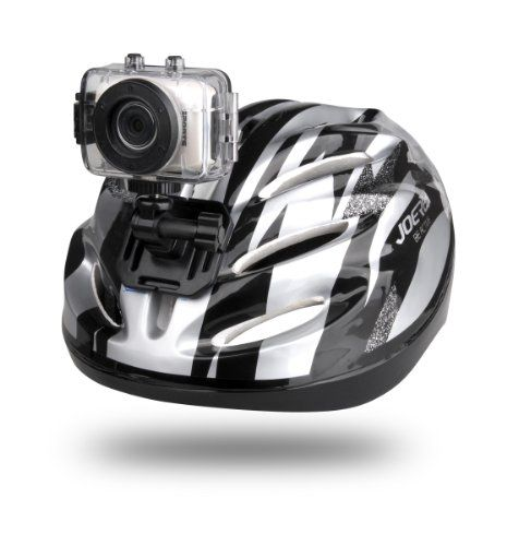 Pretty Gear-Pro High-Definition Sport Action Camera, 720p Wide-Angle Camcorder With 2.0 Touch Screen - SD Card Slot, USB Plug And Mic - All Mounting Gear Included - For Biking, Riding, Racing, Skiing And Water Sports, Etc.