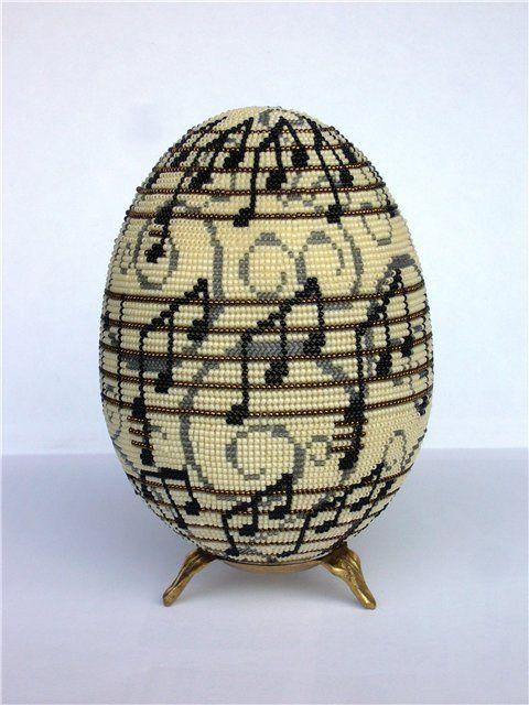 Beaded Egg