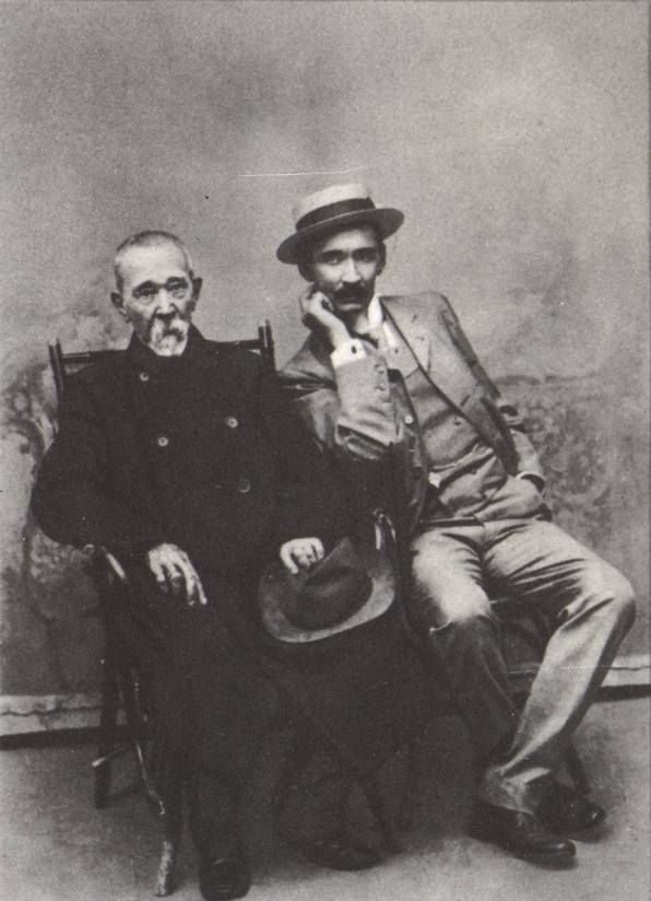 Иван Федорович Токмаков с сыном Сергеем