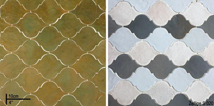 Badkamertegels Helmond : Zellige, marokkaanse geglazuurde tegels in ...
