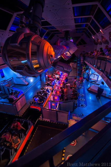 Space Mountain, Disneyland California
