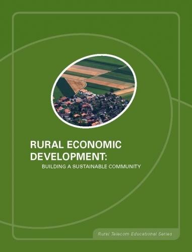 Rural Economic Development: Building a Sustainable Community