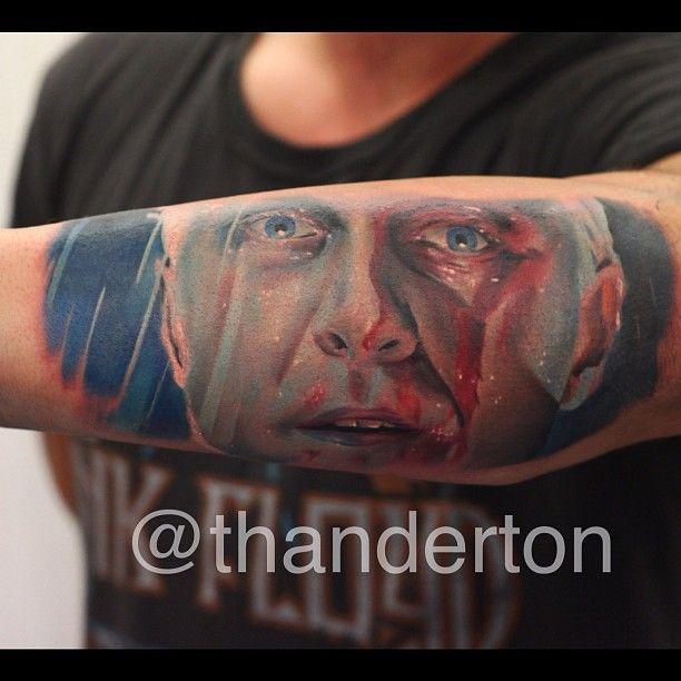 Roy Batty Blade Runner by John Anderton | Nemesis Tattoo Studio