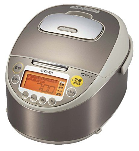 TIGER rice cooker cooked IH rice cooker Brown stainless 55 Go JKTG101CC >>> Check out the image by visiting the link from Amazon.com