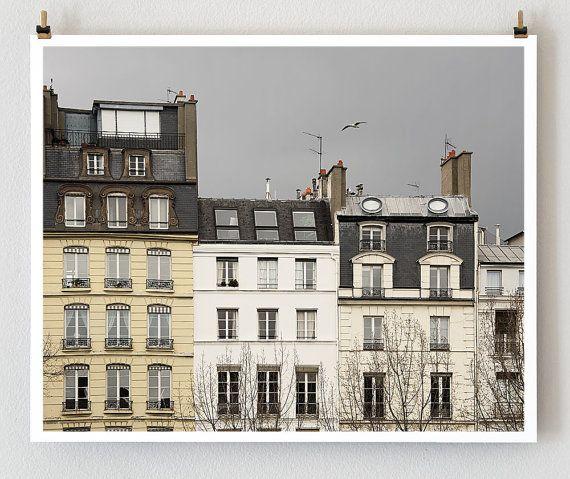 lovely gray day in France.: French Art, Paris Decor, 16X20 French, Paris Photography, Art Prints, Gray Wall Decor, Paris Sky, Paris Architecture, Gray Paris