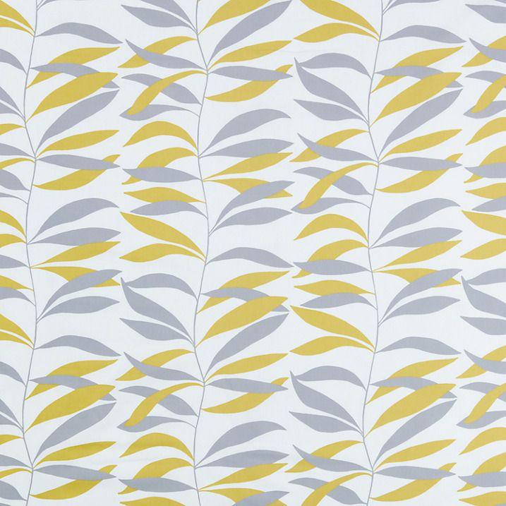 Buy John Lewis Lina Furnishing Fabric, Citrine Online at johnlewis.com