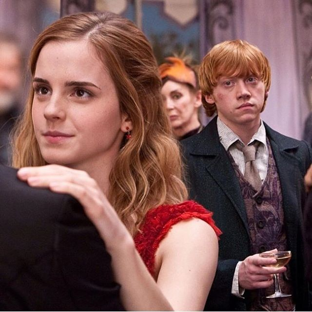 #lovelove #ronweasley #hermionegranger #magic #beauty #harrypotter #ilikehermione #ronlovehermione