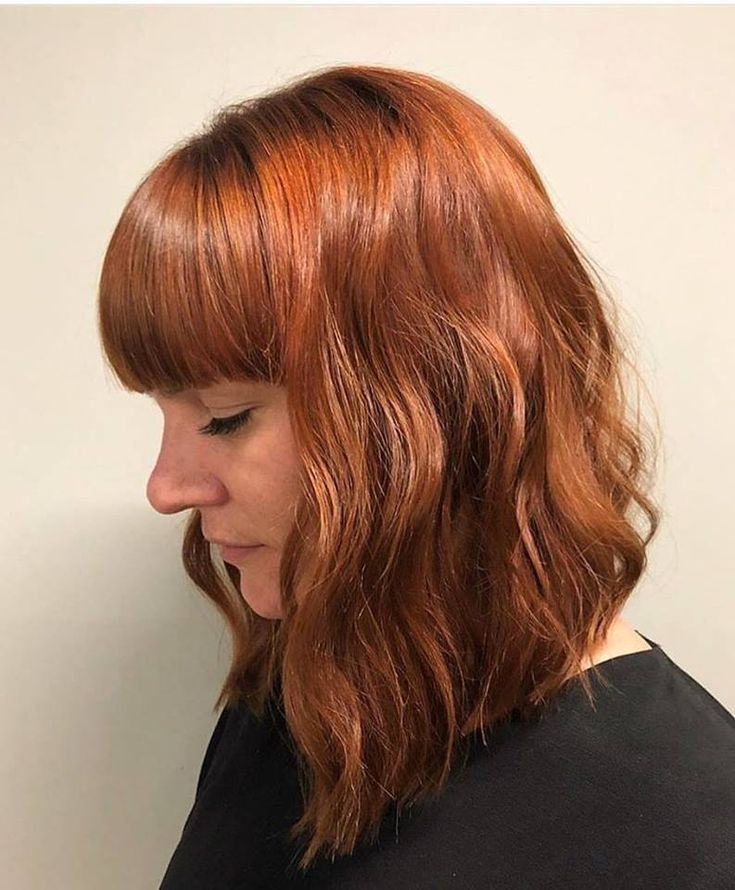 Copper Gold Hair Color For A Fresh Look This Fall
