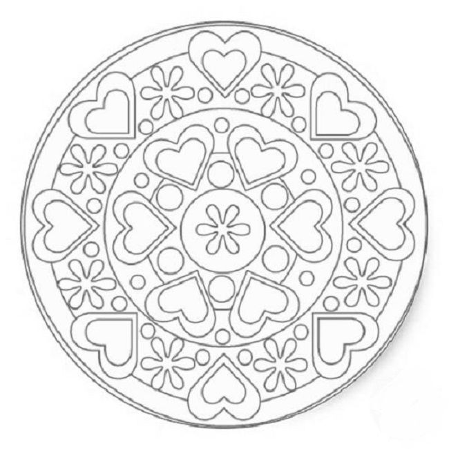 50 best images about love on pinterest coloring pages i for Love mandala coloring pages