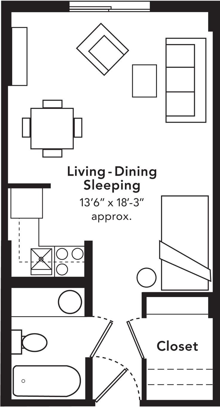 25 best ideas about studio apartment floor plans on