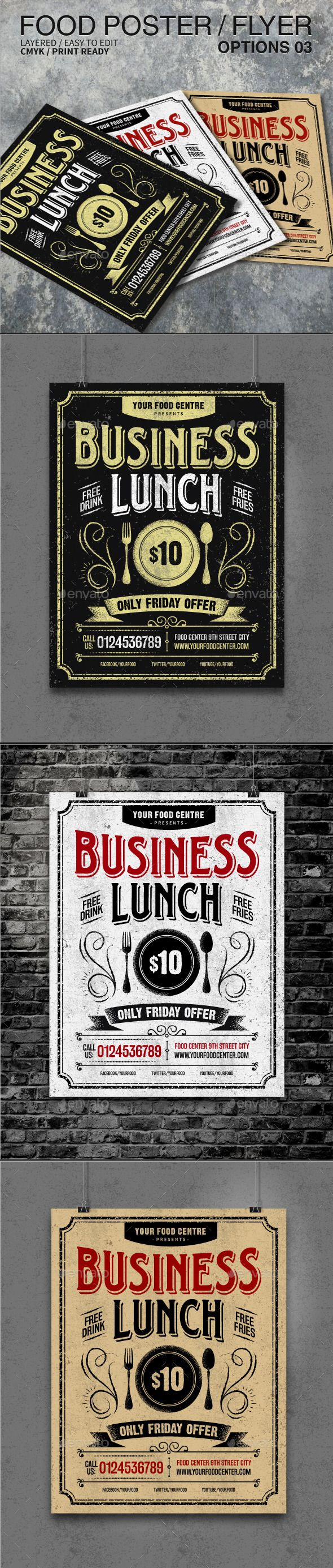 Typography Poster Flyer Template Psd Design Download