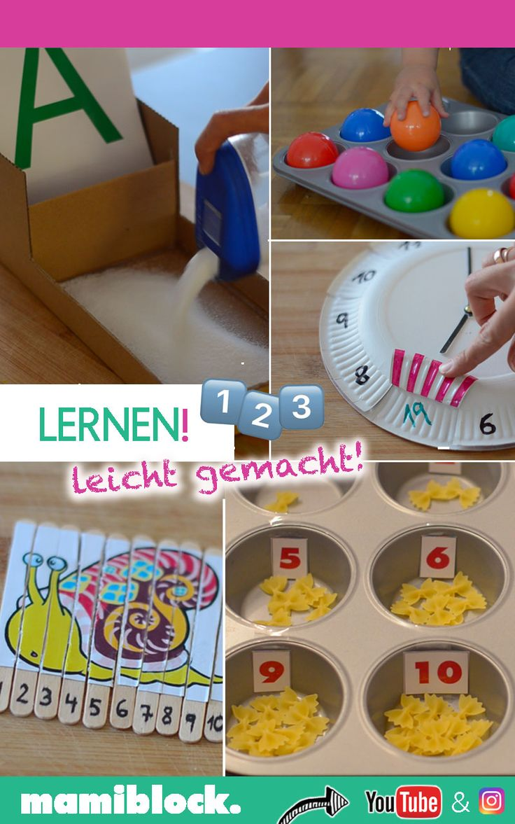 Lernen leicht gemacht | Montessori – mamiblock – EINFACHE Tipps, Tricks, DIYs & Rezepte für Eltern 🤱🏻🙋🏻♂️