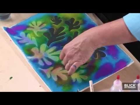 (heliotrope print) Matisse Prints du Soleil - Lesson Plan - YouTube