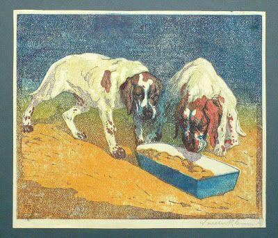 Walter Klemm - Junge Hunde