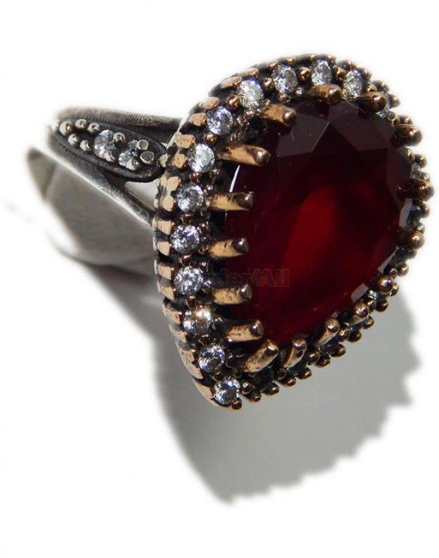 Ασημενιο Δαχτυλιδι Vintage Style : 8,0 gr | dz-11929