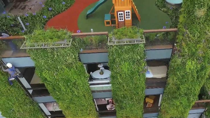 "Bogota ""vertical garden"" aims to make Colombia's capital greener"