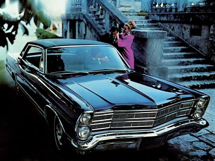 1967 Ford LTD. 1967 was the year that the LTD became a separate model, no longer part of the Galaxie 500 line.