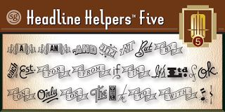 """Headline Helpers Five SG Font Download """" Headline Helpers Five SG Font Download Download : http://ift.tt/2D2eiIq Gallery and Sample : http://ift.tt/2BWDrVI Headline Helpers Five SG font - Say hello to new Headline Helpers Five SG font family designed by Jim Spiece Headline Helpers Five SG fonts release at Jul 27 2017. Headline Helpers Five SG is the perfect titling font to complement text faces in magazines logotypes etc. Wouldn't it be nice to have an assortment of little hand-lettered words? Words like The or A; With or At; To or From? Headline Helpers Five includes word accents that can go just about anywhere. Set off the title of your next design project with one of these little gems. Or use a Helper with your new product introduction headline. Convenient instructions and character map come as standard equipment with this highly desirable addition to your type library. More Headline Helpers Five is available in the OpenType Std format. Advanced features currently work in Adobe Creative Suite InDesign Creative Suite Illustrator and Quark XPress 7. A Windows TrueType version of this font has also been provided if you prefer normal keyboard access. ==================================================== We respects the intellectual property rights of others. If you believe that your work has been copied and has been posted stored or transmitted to the Sites in a way that constitutes copyright infringement please submit a notification pursuant to the Digital Millennium Copyright Act (DMCA) by providing the following written information to videos comment. """" http://ift.tt/2BVdbec"""