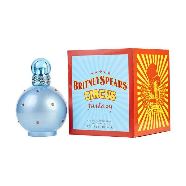 Circus Fantasy Britney Spears By Britney Spears Eau De Parfum Spray (220 SEK) ❤ liked on Polyvore featuring beauty products, fragrance, spray perfume, eau de parfum perfume, britney spears fragrance, britney spears perfume and britney spears