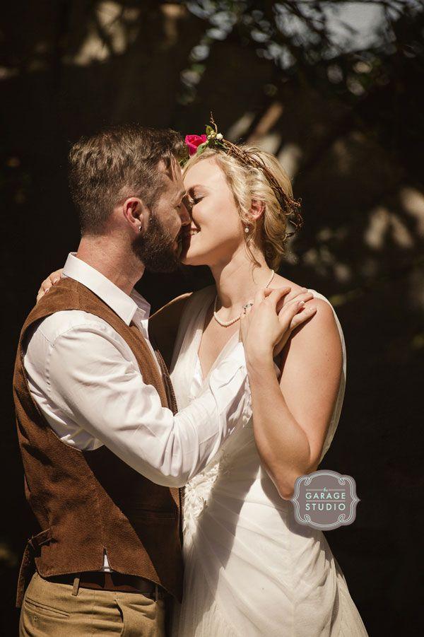 Gorgeous Bride & Groom - vintage style wedding photography
