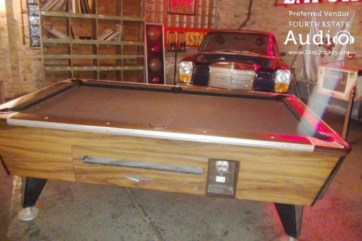 Your party guests will never get bored at Salvage One. There are game tables of all sorts, for those who don't feel like dancing. http://www.discjockey.org