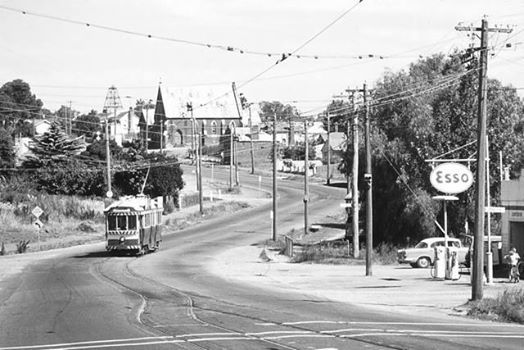 Long Gully in the 1960's