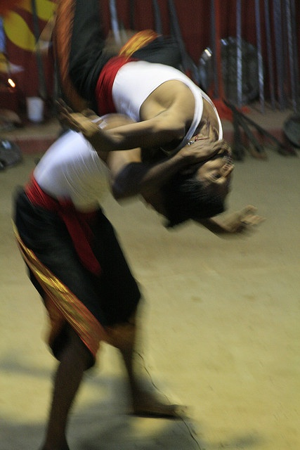 Indian Martial Arts - Kalarippayattu by sanka-coffe