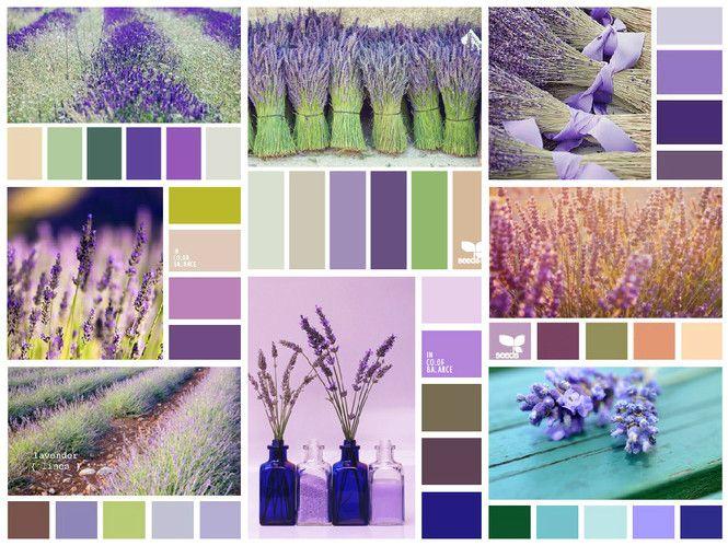Статьи - Лавандовый цвет в интерьере спальни