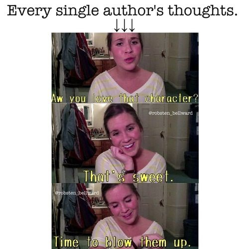 Or drop them in Tartarus! Riordan...... Or put them under mind control!! Veronica Roth.... Or KILL THEM!!!!! Eoin Colfer......