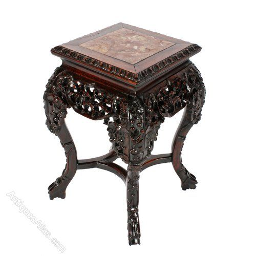 Chinese Carved Rosewood Stand SOLD - Antiques Atlas. Asian FurnitureSell ... - 49 Best Chinese Hardwood Or Inspired Furniture Images On Pinterest