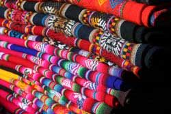 Some beautiful Aztec clothing that could be used in the design of my future home.