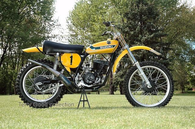 1973 Suzuki RN37 Works Racer of Roger DeCoster