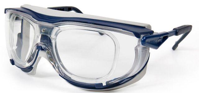 UVEX Prescription Safety Glasses Skyguard NT RX Blue Black