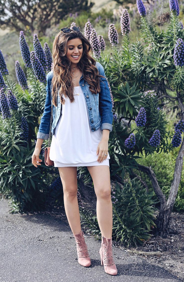 Fashion and lifestyle blogger Adelina Perrin of The Charming Olive wearing DVF dress, Steve Madden Shoes, Zara bag, and Armani Jacket