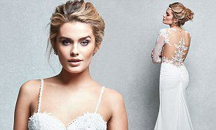 Chloe Lloyd's most recent shoot no doubt has special significance for the star, as she dons a series of wedding dresses ahead of her wedding to Union J star Josh Cuthbert.