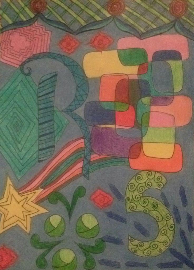Done in pencil crayon :)