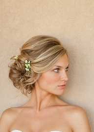 Soft, natural hair and makeup   Timeless Weddings Company; love the hair
