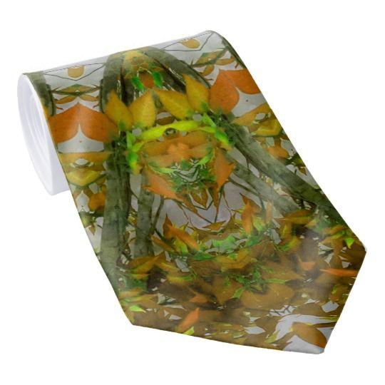 Nature Mandala Neck Tie by www.zazzle.com/htgraphicdesigner* #zazzle #gift #giftidea #tie #green #mandala #fathersday #necktie #nature