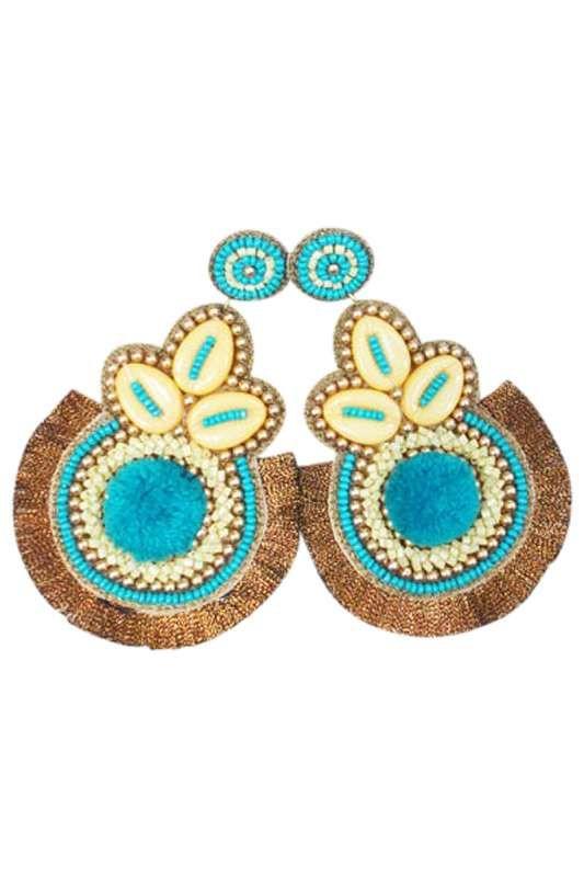 Eb & Ive - Ra Ra Earring Golden