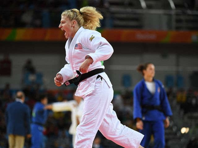 Kayla Harrison makes judo history with another gold