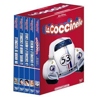 Coffret La Coccinelle - 5 Films