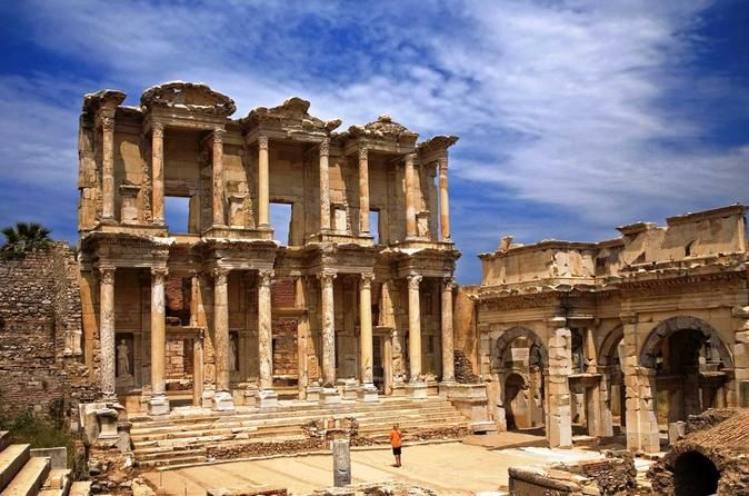 Ephesus Day Trip From Istanbul by Air If you are visiting Istanbul and have limited time to explore the rest of Turkey, then this tour is for you!  Don't miss the opportunity to visit Ephesus, one of the most majestic ruins sites in the world in this 1 day trip from Istanbul to Ephesus with domestic flights. Learn the importance of Ephesus in ancient times, and walk in the footsteps of Alexander the Great, Cleopatra, St Paul, St John and more in this informative tour which com...