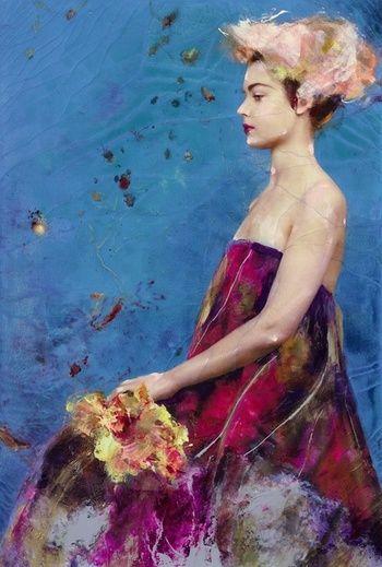 -Lita Cabellut- 'fairy flower'
