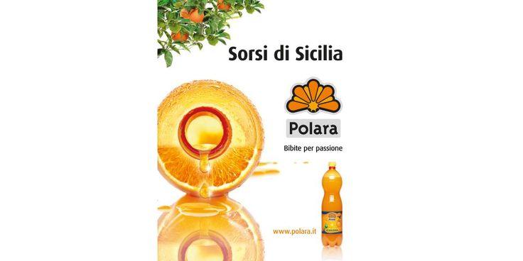 Sorsi di Sicilia, campagna pubblicitaria / Pubblicità settimanali / Bibite Polara, Modica (RG) Sicilia