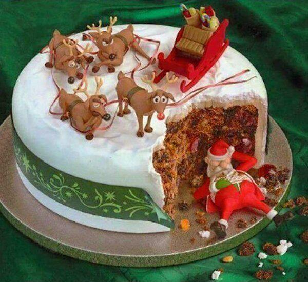 Witzige Kuchen ...