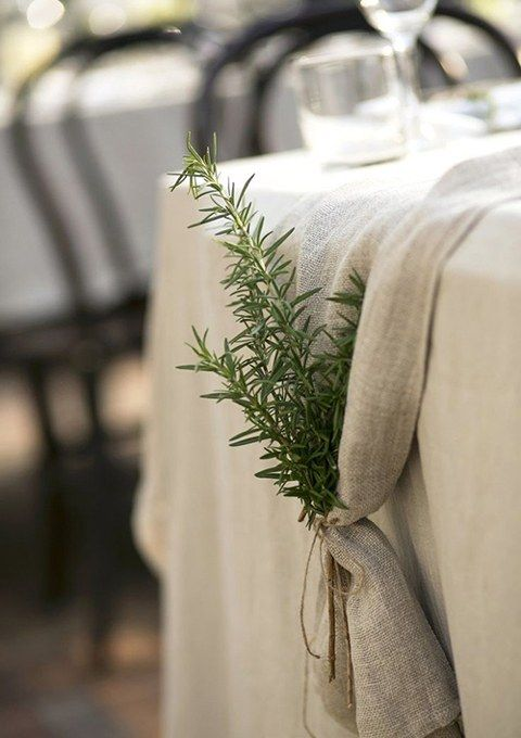 Instead of renting expensive linens, top your venue's standard cotton or polyester tablecloths with a decorative runner and save about $25 per table. — Emarie C. Vangalio, La Tavola Fine Linen Rental, Napa, CA