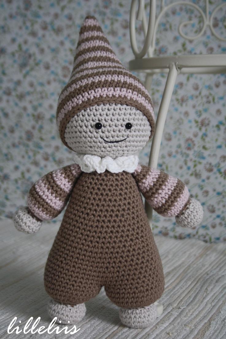 Amigurumi pattern - Cuddly-baby