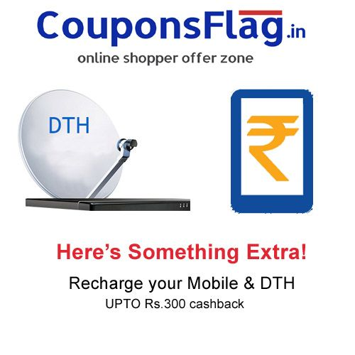 Online Recharge Coupons If you want to know how to get free recharge discount coupons in online then you have reached right website. CouponsFlag helps to people save a lot of money, while online recharge your dth, mobile phones, datacard