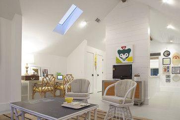 Sleeping Loft - Kid's Hangout Spot beach style family room